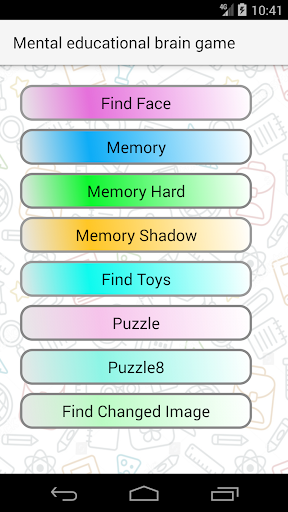 Mental Educational Brain Up Games 3.0.0 screenshots 3