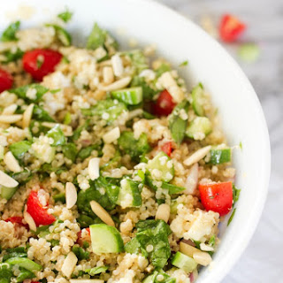 Summer Greek Quinoa Salad