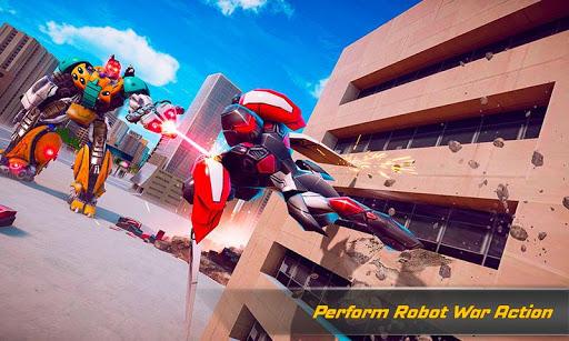 Flying Elephant Robot Transform: Flying Robot War 1.1.1 Screenshots 5