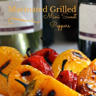 Marinated Grilled Mini Sweet Peppers