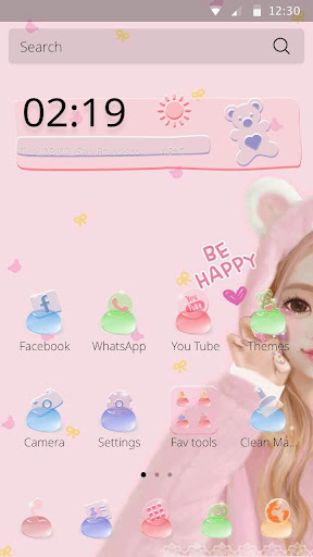 Jelly Girl Theme