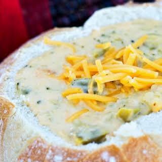 CopyKat.com's Panera Bread Broccoli Cheese Soup.