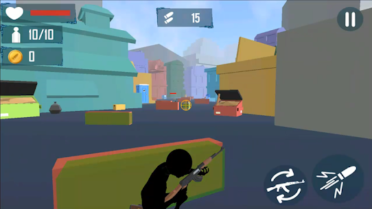 Stickman Cover Fire Shooting MOD Apk 2.5 (Unlimited Lives) 4