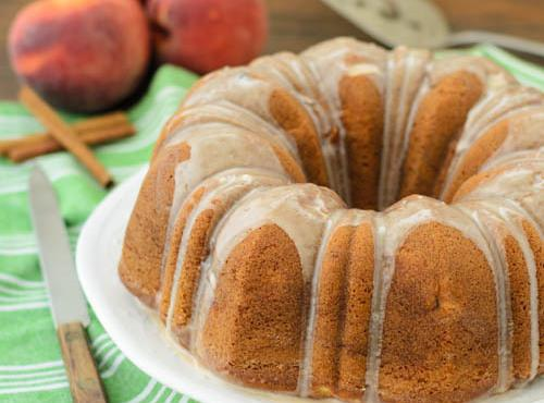 Easy Fresh Nectarine Or Peach Cake Recipe