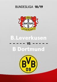 Bundesliga. Temporada 18/19. Bayer Leverkusen-Borussia Dortmund