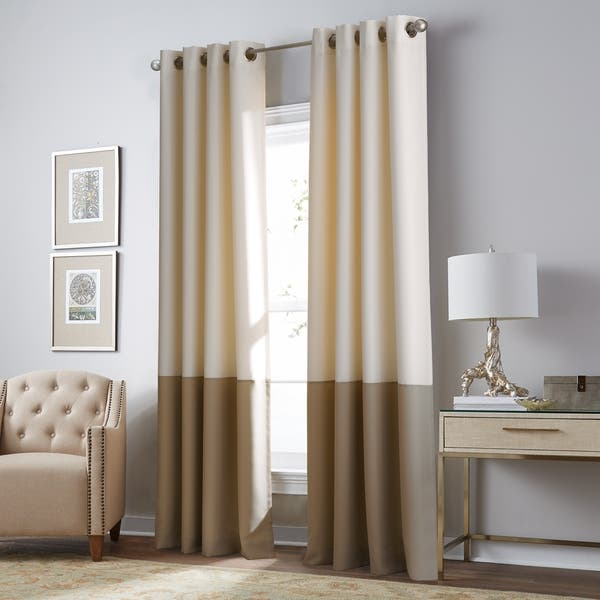 Color Block Curtains