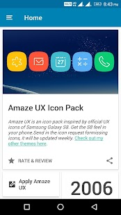 S8 UX Amaze - Icon Pack- screenshot thumbnail