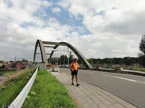 Photo: Naar de linkeroever van de Schelde