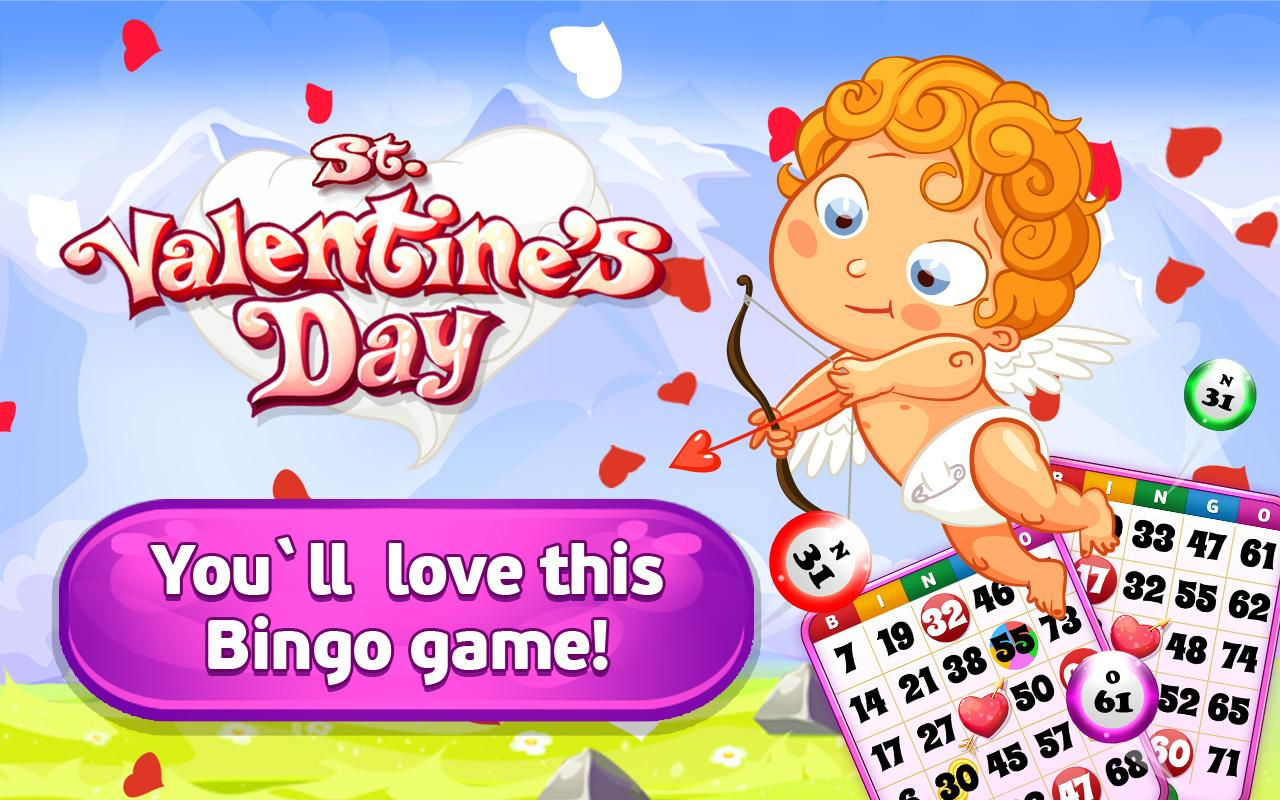 bingo st valentine u0027s day android apps on google play