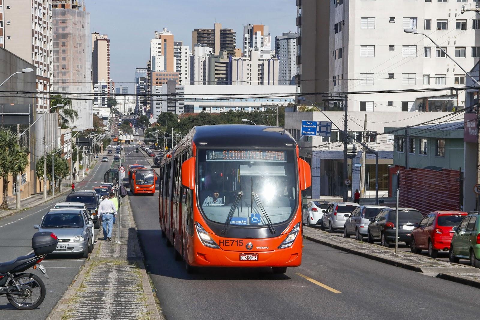 Em um ano, o transporte público de Curitiba perdeu quase 100 milhões de passageiros. (Lucilia Guimarães/SMCS/Reprodução)