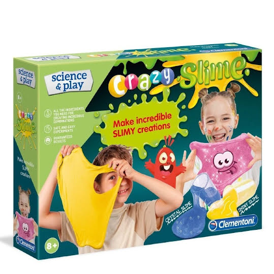 CLEMENTONI SCIENCE AND PLAY CRAZY SLIME SET