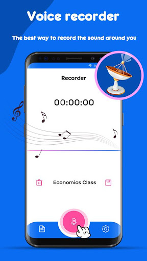 Screenshot for Voice Recorder in United States Play Store