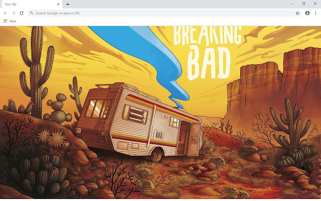 Breaking Bad Wallpapers and New Tab
