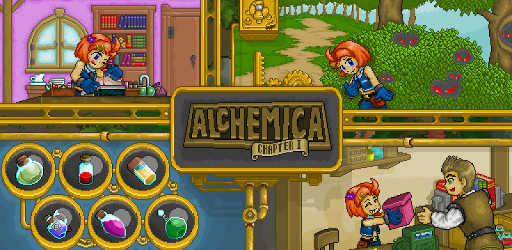Alchemica - Crafting RPG game (apk) free download for Android/PC/Windows screenshot