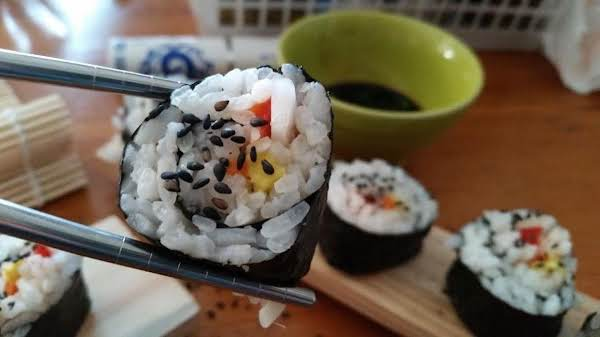 Basic Vegetarian Sushi Recipe