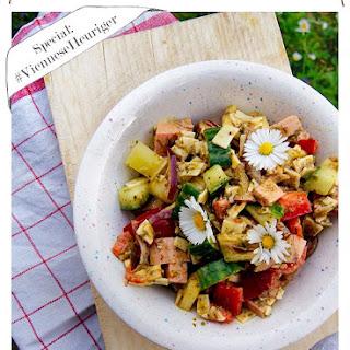 Pork Sausage Salad