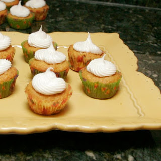 Pumpkin Mini Cupcakes.