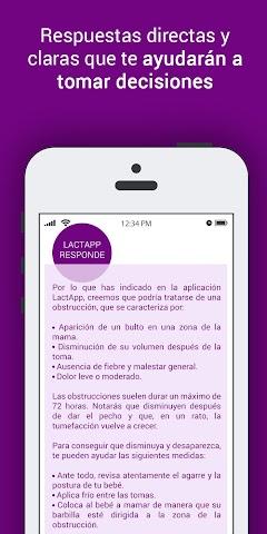 android LactApp Consultas de lactancia Screenshot 6