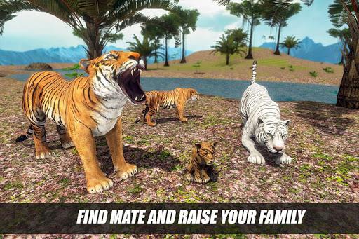 Tiger Family Simulator: Angry Tiger Games 1.0 screenshots 8