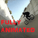 Tunnel Ride BMX Live Wallpaper icon