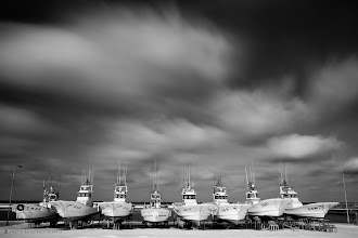 Photo: Souya Harbor, a few kilometers from the northern most point of Japan. I used a 2.5 minute exposure to get the movement in the clouds, then Silver Efex Pro for the B&W conversion.