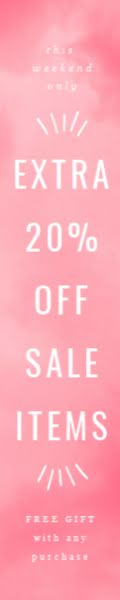 Extra 20% Off Sale Items - Skyscraper Ad Template