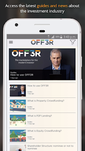 OFF3R - Compare Investments- screenshot thumbnail