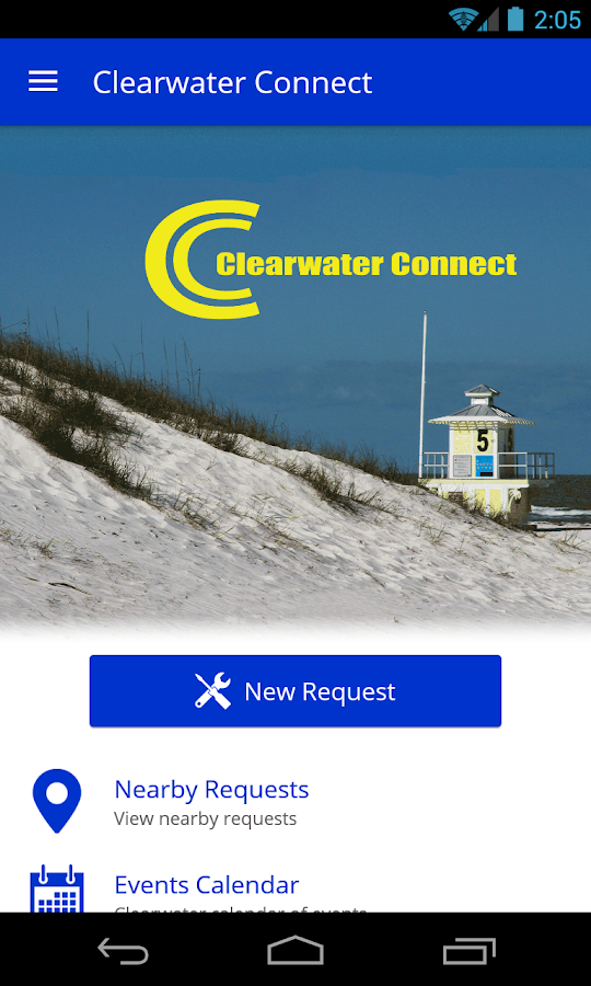Clearwater Connect- screenshot