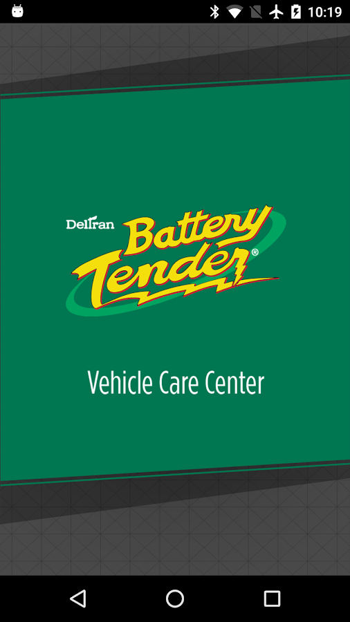 Battery Tender- screenshot