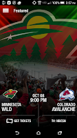 Screenshot of MN Wild Official