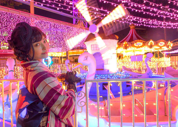 3. Enjoying 'Everyone's New Year' at Asakusa's Hanayashiki