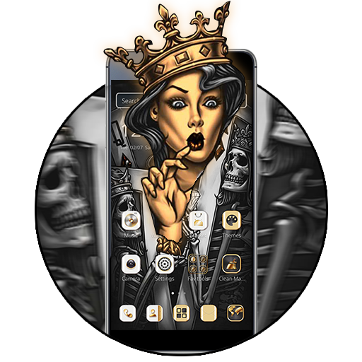 Silver Queen King Theme file APK Free for PC, smart TV Download