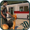 Police Dog Subway Security icon