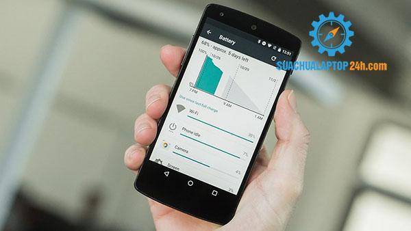 Các cách hiệu chỉnh pin cho Android với 2 phương pháp đơn giản, không lo pin yếu 2