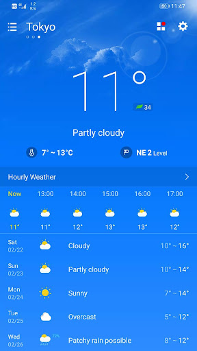 Weather Forecast 2.3.32 screenshots 1