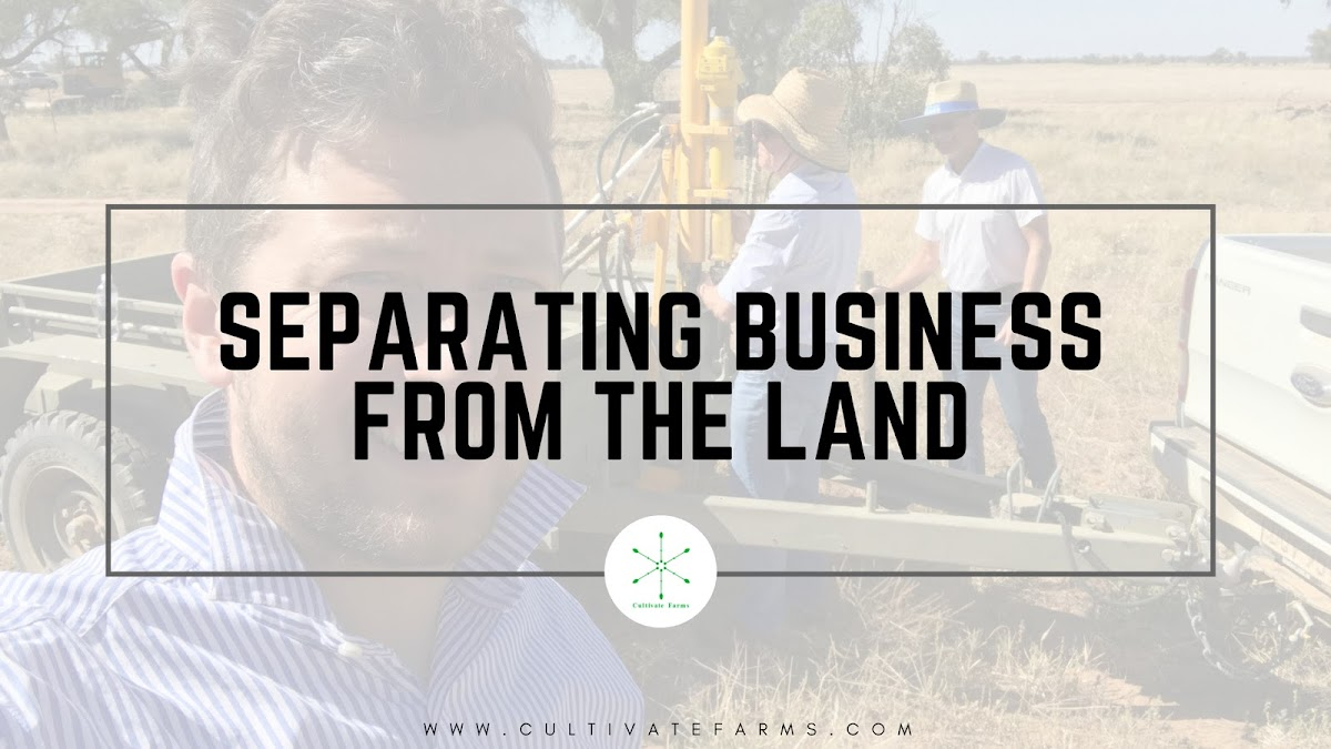 Separating the business from the land