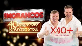 Cartel anunciador del espectáculo de Los Morancos,