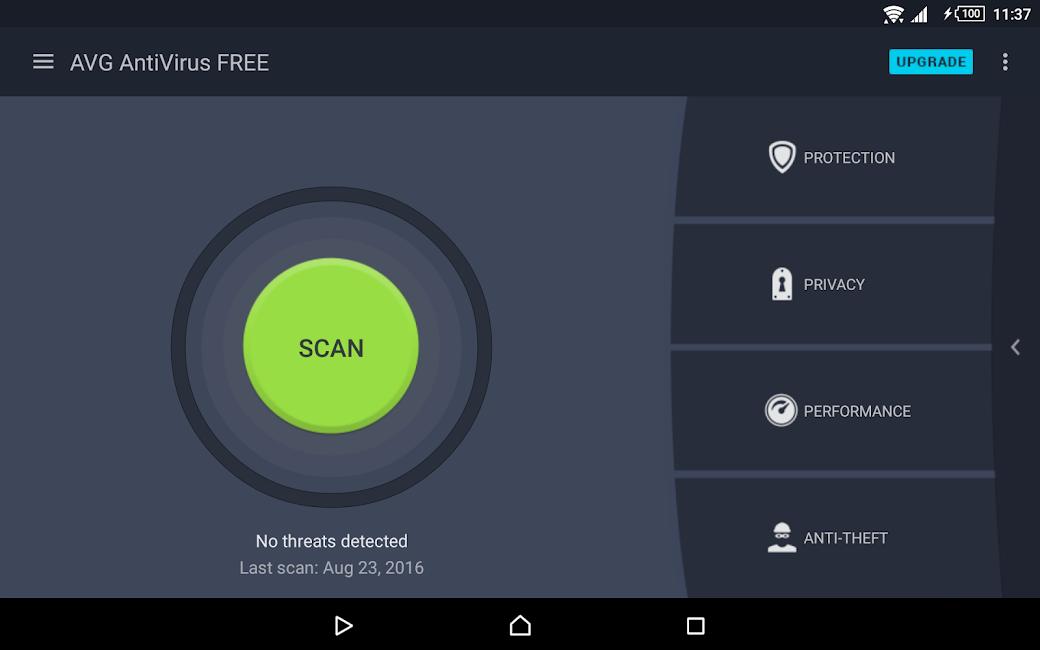 #9. AntiVirus FREE (Virus Cleaner) (Android)
