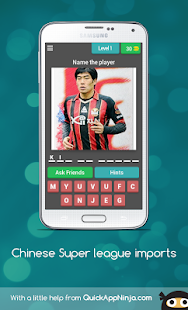 Chinese Super league imports for PC-Windows 7,8,10 and Mac apk screenshot 1