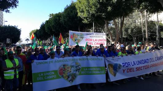 Nueva manifestación del campo almeriense.