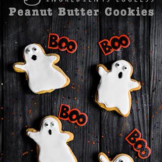 3 Ingredients Eggless Peanut Butter Cookies