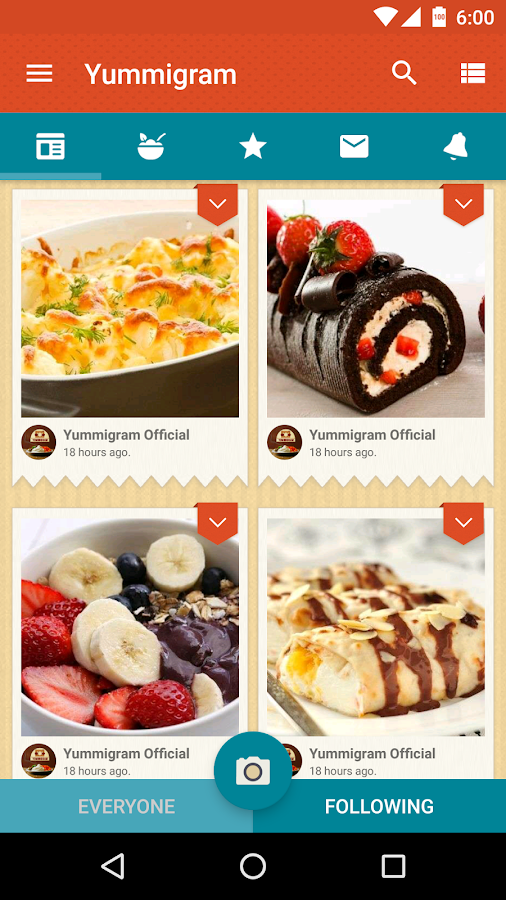 Yummigram- screenshot