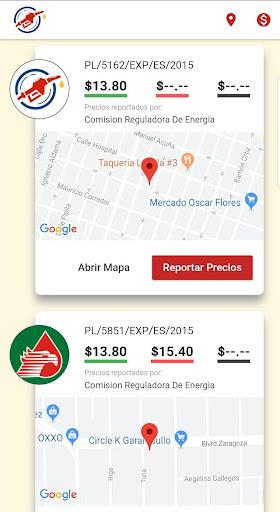 Reporte De Gasolinas En México  screenshots 1