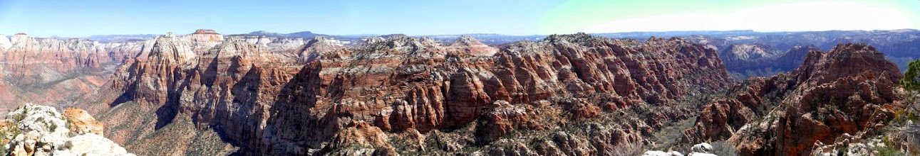 Photo: Partial panorama from the Watchman