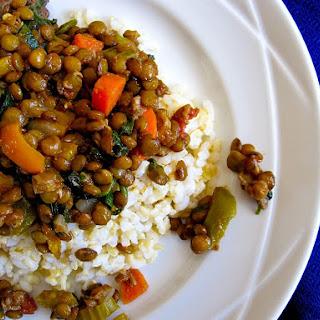 Lentil and Vegetable Tagine