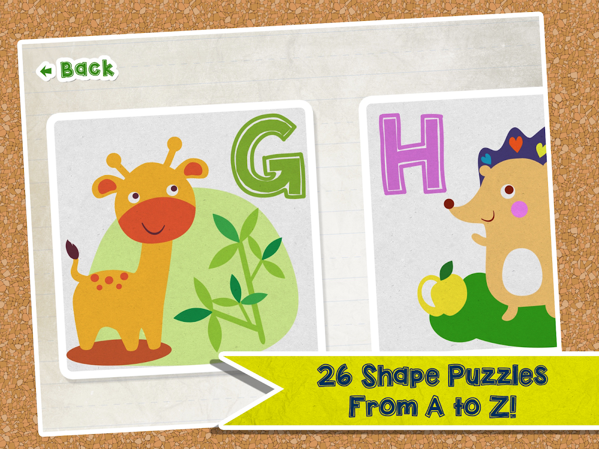 Alphabet Animal Puzzle- screenshot