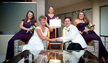 Photo: Lesbian Wedding Hyatt Greenville - http://WeddingWoman.net