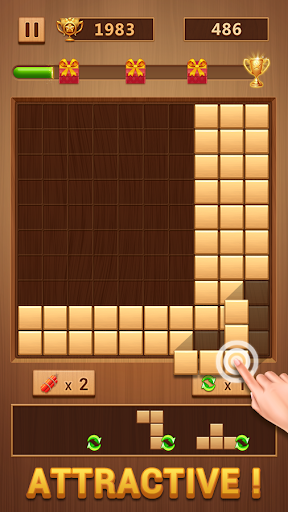 Wood Block - Classic Block Puzzle Game apktram screenshots 4