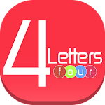 4 Four letters Guess Word Icon