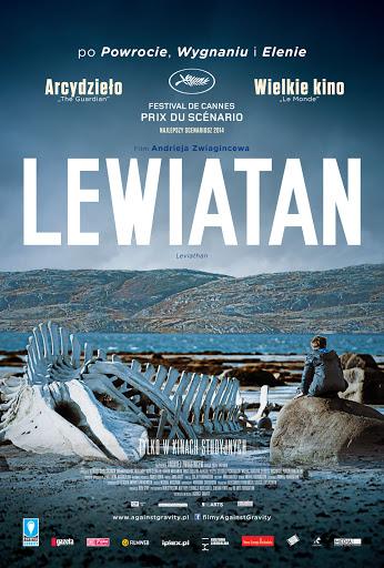 Przód ulotki filmu 'Lewiatan'